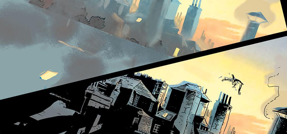 Comics : dans la tête d'un auteur