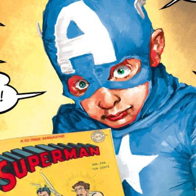Slider exposition comics